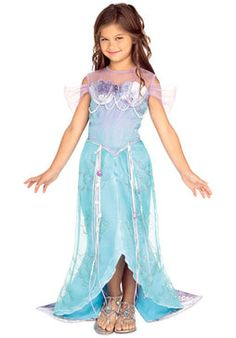 Meerjungfrau Prinzessin Kostüm, Kinder | Fantasiekostüme für Kinder | Escapade Kostüme