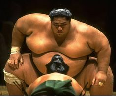 Sumo - Konishiki! Oh jesus! I'd just throw the salt in his eyes and run like hell.