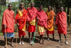Maasai Tribesmen Kenya