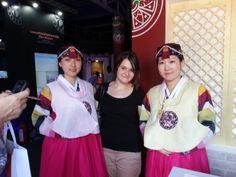 Korean  girl , Hanbok