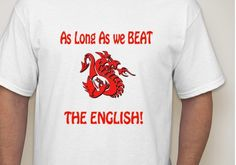 WELSH RUGBY TEE