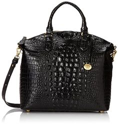 Brahmin Large Duxbury Satchel, Black