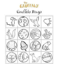 """The Gruffalo"": una storia, tante attività. Gruffalo Activities, Gruffalo Party, The Gruffalo, English Activities, Kids Activity Books, Activity Sheets, Book Activities, Kindergarten Montessori, Kindergarten Books"