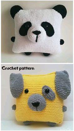 cute Crochet 58265388919196227 - Source by reffard Crochet Panda, Crochet Pet, Crochet Unicorn, Amigurumi Toys, Crochet Patterns Amigurumi, Cute Crochet, Crochet Animals, Crochet Dolls, Crochet Penguin