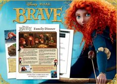 A Disney Brave Party Theme For Your Merida With Cake Ideas