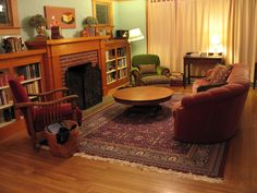 Look, people are pinning pictures of my living room!