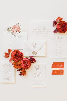 """From the editorial """"This Feminine Wedding Inspiration in Provence Was Inspired by the Iconic Red Poppy Flower."""" The iconic poppy flower was paired with red and pink hues to create a modern and sophisticated color palette. The result? Pure magic in the South of France. ✨ LBB Photography: @remidupac #stylemepretty #weddinginvitation #poppyflower #redcolorpalette #sophisticatedwedding #modernwedding #southoffrance #destinationwedding"""