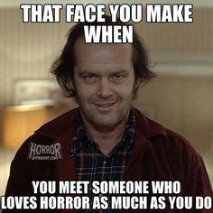 Horror lovers unite