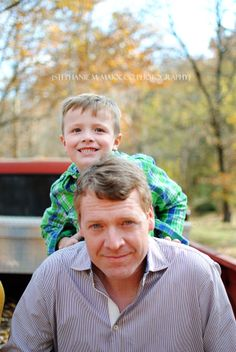 father & son // family session // family portraits