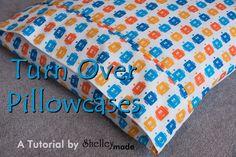 Shelley Made: Little Boy Bedroom Part 4 - Pillowcase