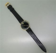 Vintage Movado 14k Gold Watch. Available @ hamptonauction.com at the Fine Vintage and Modern Watch Auction on September 29th, 2014! Come preview our catalog!