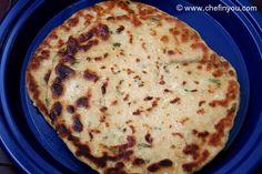 Whole Wheat Garlic Kulcha Naan Recipe