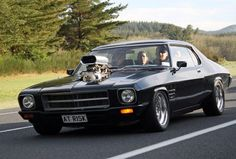 Two words - At Risk! One word - Weapon! Australian Muscle Cars, Aussie Muscle Cars, Classic Motors, Classic Cars, Hq Holden, Holden Muscle Cars, Holden Australia, Holden Monaro, Hot Rides