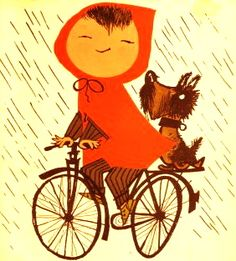 Vintage Childrens Book illustration by Fiep Westendorp. http://www.janetcampbell.ca/