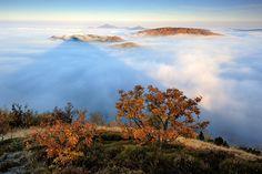Klíč – vrcholová plošina   Nový Bor, Svor, Lužické hory