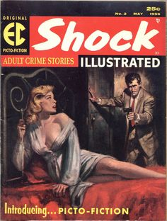 Shock Illustrated, May 1956. (Cover art by Rudy Nappi)