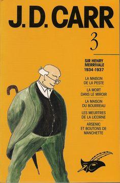 Les Intégrales du Masque - J.D. Carr - Volume 3 - Recto - Mai 1993
