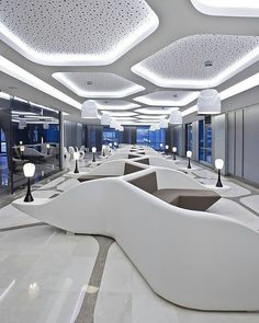 Recepção do Liv Hospital, Istambul .. FOMGROUP Arquitetos #recepcao #Istambul…