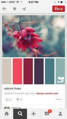 Winter kleur