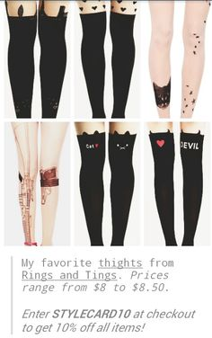 Cute tights Cute Tights, Patterned Socks, Black Jeans, Sexy, Girls, Pants, Clothes, Style, Fashion