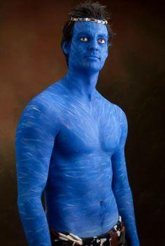 Avatar Makeup Neytiri.3gp   Halloween Make-up & Nails   Pinterest ...
