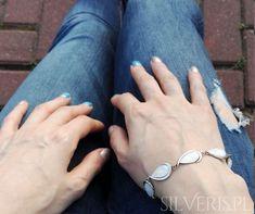 Bransoletka srebrna z Opalem Białym - zobacz koniecznie w naszym sklepie! Opal, Bracelets, Jewelry, Jewlery, Jewerly, Schmuck, Opals, Jewels, Jewelery