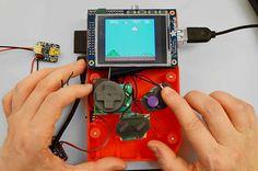 Construa seu próprio Game Boy com ajuda de uma impressora 3D