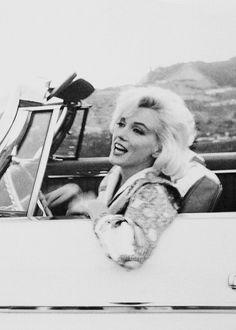Marilyn Monroe photographed by George Barris, 1962.