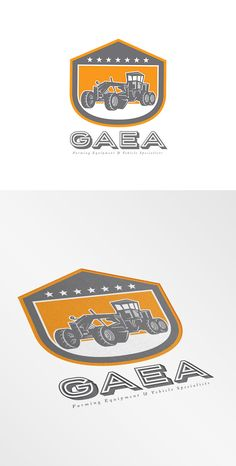 Check out Gaea Heavy Equipments Logo by patrimonio on Creative Market
