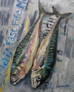 Two Mackerel by Robin Forsyth