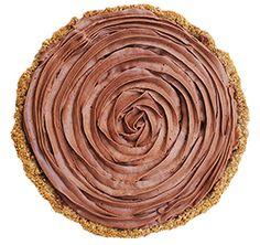 SMOOTH OPERATOR - French silk chocolate with pretzel crust @ emporiumpies.com/