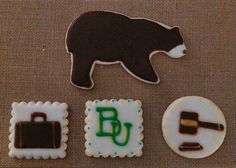 Cookies for a Baylor Law School graduation party! Great idea!