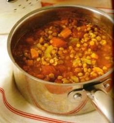 This delicious lentil stew gets by far the most compliments of any dish I cook! I've had to email the recipe to more friends than I can count....
