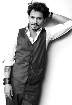 I would like him for, well any time. johnny depp