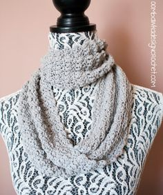 Soft as a Cloud Cowl - Lovely and light to wear - perfect for cool spring, summer and fall days or to accentuate an outfit :) @OombawkaDesign