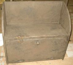 One Door Cubby from Red Fox Primitives