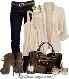 """Neutrals"" by dlp22 on Polyvore"