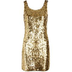 Moschino Paillette-embellished crepe mini dress ($750) ❤ liked on Polyvore