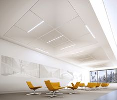 OWAconsult® collection – designed by Hadi Teherani by OWA | Acoustic solutions | Ceiling panels