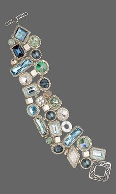Jewelry Design - Bracelet with Swarovski Crystal, Seed Beads and Silver-Plated Brass Beads - Fire Mountain Gems and Beads