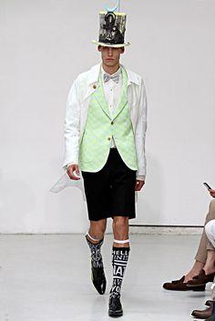 Walter Van Beirendonck Spring 2013 Menswear Fashion Show