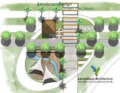 Landscape Plans, Landscape Architecture, Landscape Design, Architectural Plants, Garden Design Plans, Urban Planning, Garden Planning, Urban Design, Flora