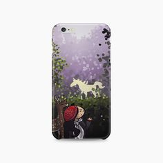 "#rainydays ""Unicorn Forest"" #phonecase - available on The Mutiny, design by #MaraLiem http://wearethemutiny.com"