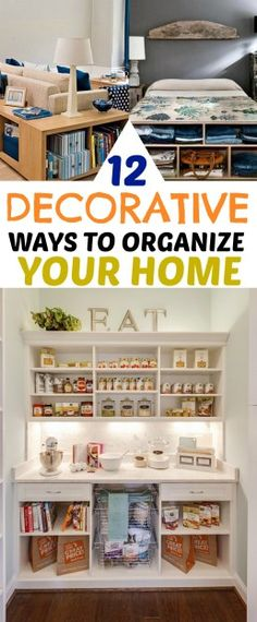 12 Brilliant and Decorative Ways to Organize Your Home this Spring.