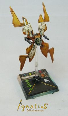 Custom repainted Scum StarViper for X-Wing Miniatures | custom ...