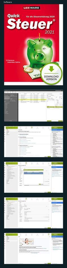 Lexware QuickSteuer 2021 Download für das Steuerjahr 2020 | Standard | PC | PC Aktivierungscode per Email - 151n Microsoft Windows, Software, Personal Finance, Students