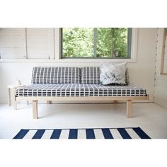 Artek 710 A daybed/laveri. From 1792 e (depending on the fabric) Siena, Entryway Bench, Dining Bench, Alvar Aalto, Banquette, Daybed, Guest Room, Architecture Design, Patio