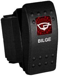 Bilge Rocker Switch Carling Contura Ii Illuminated Accessory Boat Wiring Rocker Boat Battery