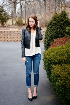 February Remix: Boyfriend Jeans {1}