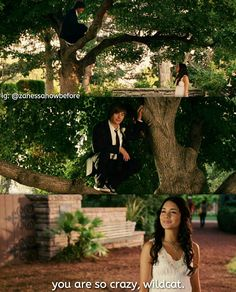 Troy waiting for Gabriella in a tree! High School Musical Quotes, Zac Efron Vanessa Hudgens, Hig School, Zac Efron And Vanessa, Troy And Gabriella, Old Disney, Disney Stuff, Disney Mickey, Disney Channel Movies